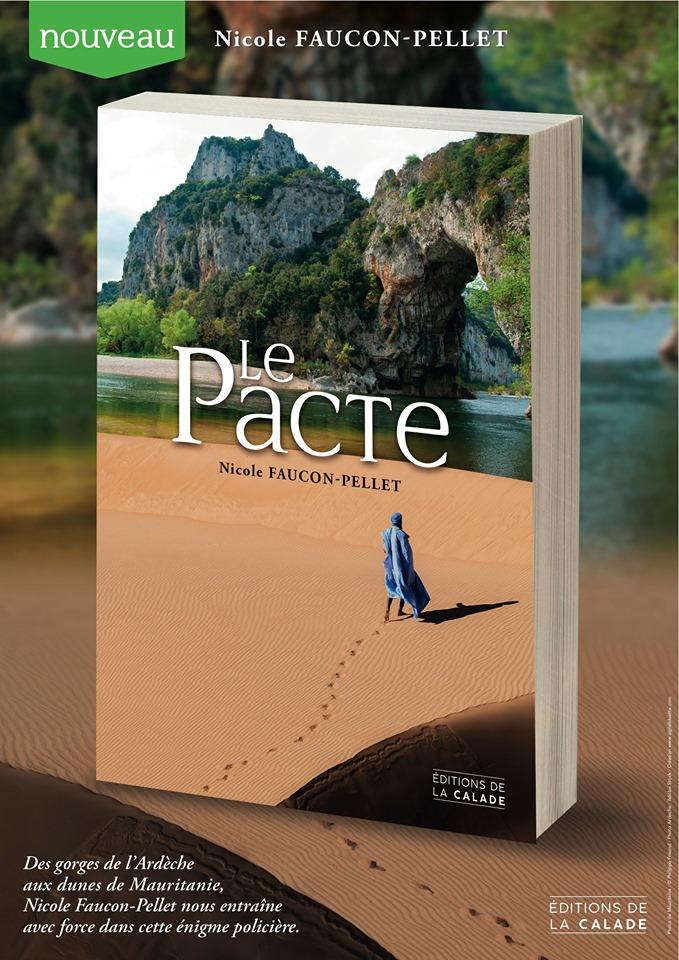 Le pacte de Nicole Faucon-Pellet aux éditions de la Calade
