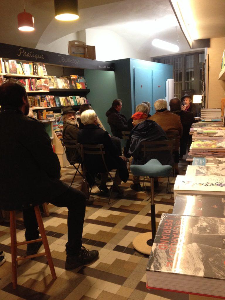 Présence de Mario Morisi à la librairie le 5 décembre 2019