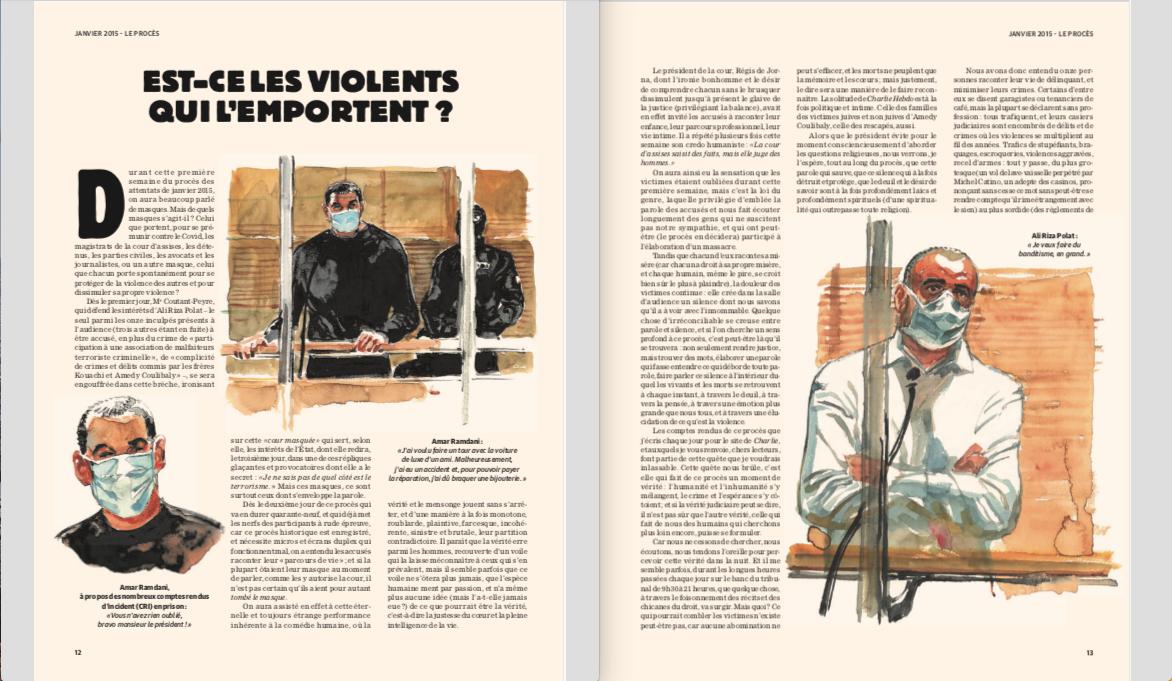 Compte rendu du procès de Charlie Hebdo:
